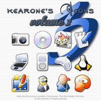 kearone's Icons volume 3 by kearone