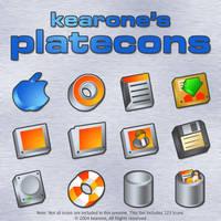 kearone's platecons by kearone