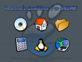 kearone's Comicons for GNOME by kearone