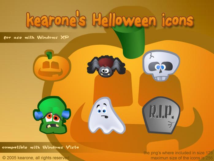 kearone's Helloween icons by kearone