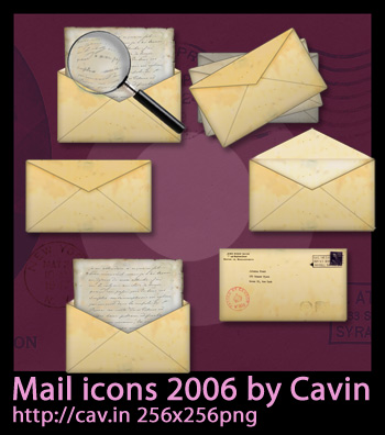 Mail Icons 2006