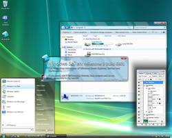 Windows Seven M3 6801 PSD by dj-corny