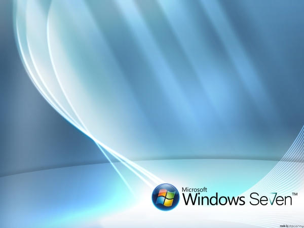 Windows Seven Gleam Wallpaper by dj-corny