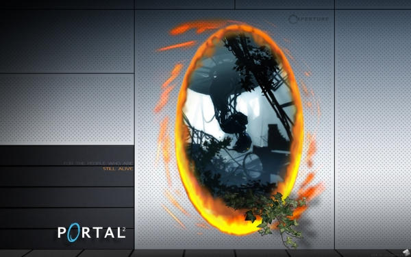 Portal 2 - GI Cover Wallpaper by dj-corny