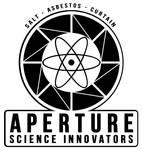 Aperture Science Cubelogo 1953