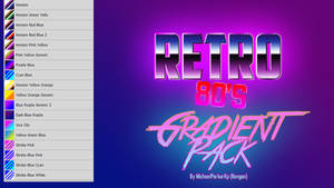 Retro 80's Gradients for PS (Updated Download)