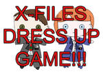 X-Files Dress Up Game