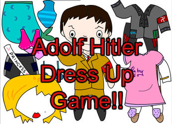 Adolf Hitler Dress Up Game by queegy