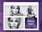 #04 PACK PNG - CL (of 2NE1)