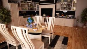 Interior Housing: Kitchen