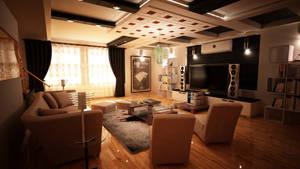 Modern housing: drawing room