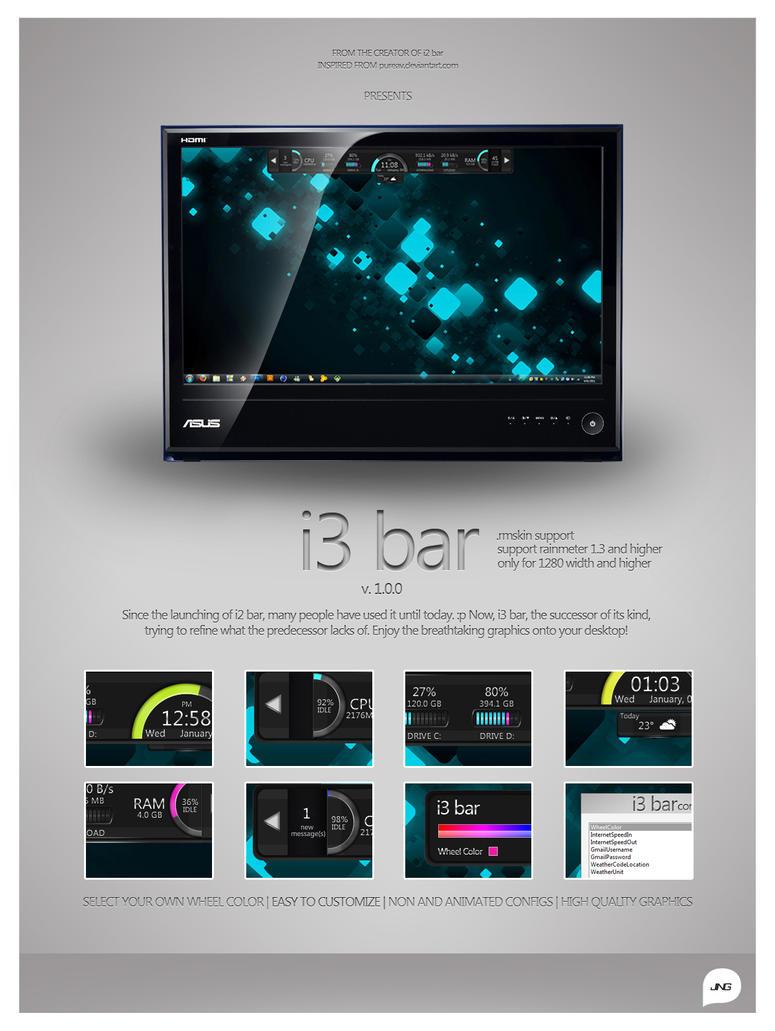i3 bar by ld-jing