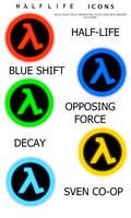 Half Life Iconpack by towelie55