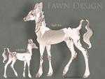 Fawnling HARPG Fawn|Geisha x Pear