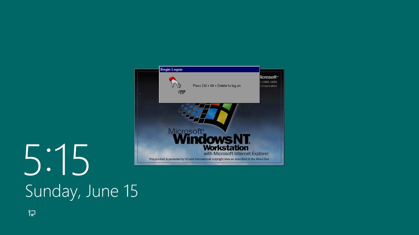Windows Nt Press Ctrl Alt Del For Windows 8x By Winabpc1564 On