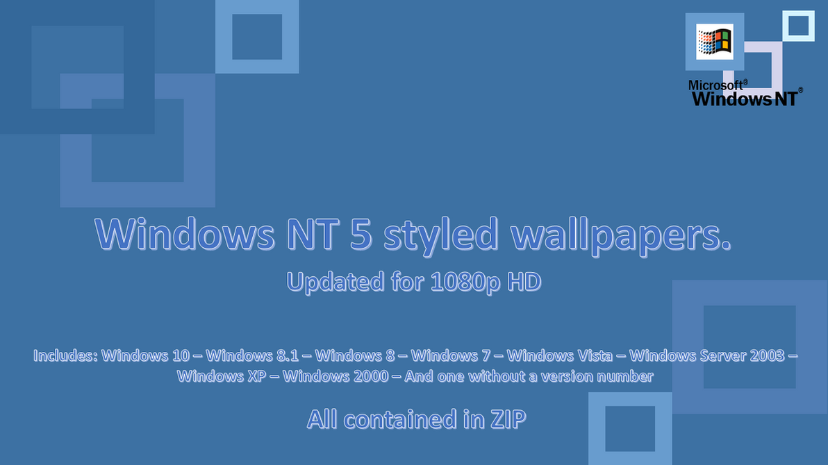 Windows Nt  Styled Wallpapers Updated Version By Winabpc