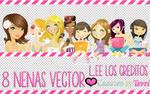 8 Nenas Vector Para Ti 13.10