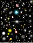 Star lights vector2
