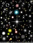 Star lights vector2
