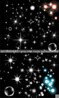 Star lights vector1