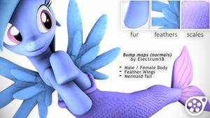 Electrum's Bumpmaps for ponies