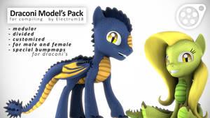 Electrum's Draconi model's pack