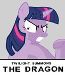Twilight Summons the Dragon