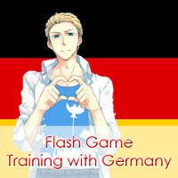 Flash Game ~ Training with Germany by Mizu1993
