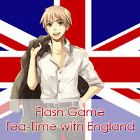 Flash game ~ Tea-Time with England by Mizu1993