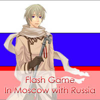 Flash game ~ In Moscow with Russia by Mizu1993