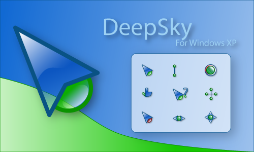 DeepSky for Windows XP by Timerever Koleksi cursor cantik