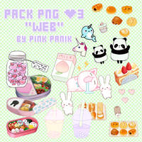 Pack PNG Web [Pink Panik]