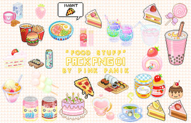 Pack PNG Food By Pink Panik by PinkPaanik