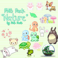 Pack PNG Nature By Pink Panik