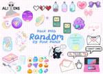 Pack PNG RANDOM By Pink Panik