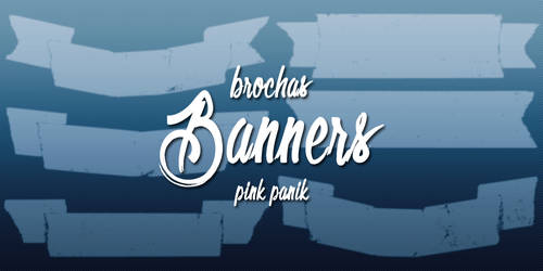 Banners brushes