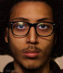 face portrait retouch