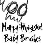 Maggot Brushes for PS CS2 by rachelthegreat