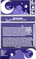 Starry Night - Journal Skin