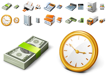 Free Business Desktop Icons by trayiconappl24