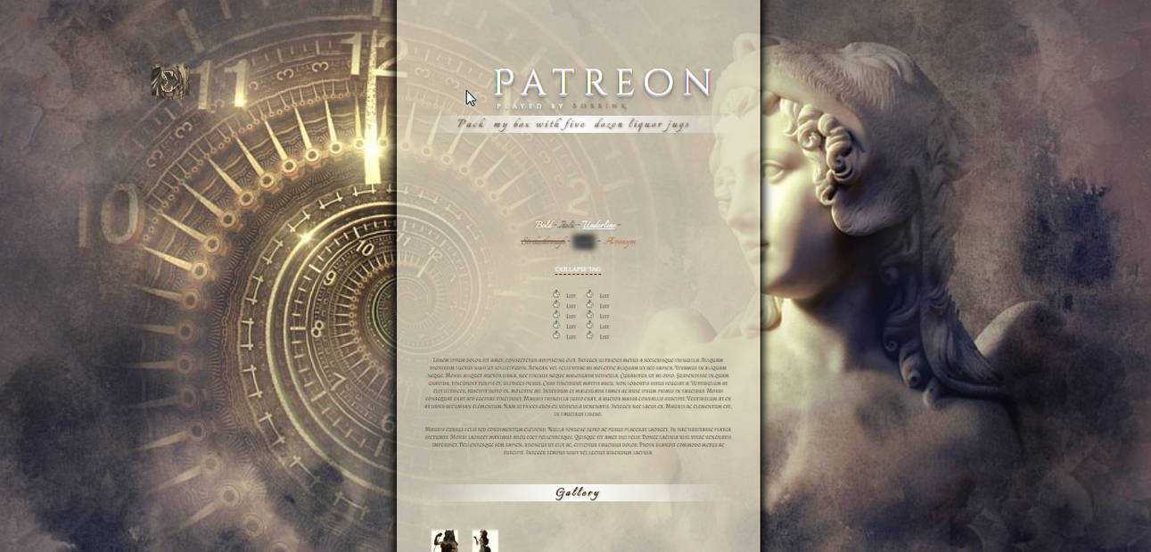 Patreon Exclusive March RPR Template