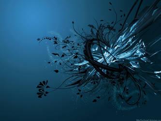 Blue C4D Wallpaper by Dan4ArChAnGeL