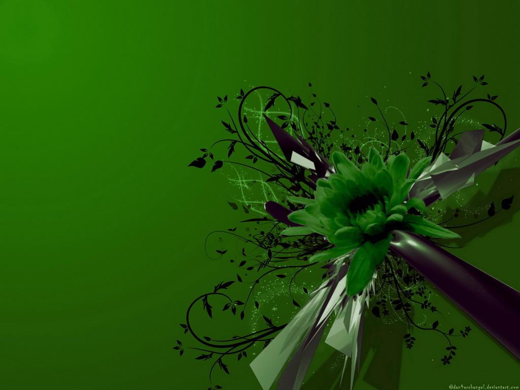 Green C4D Wallppaper by Dan4ArChAnGeL