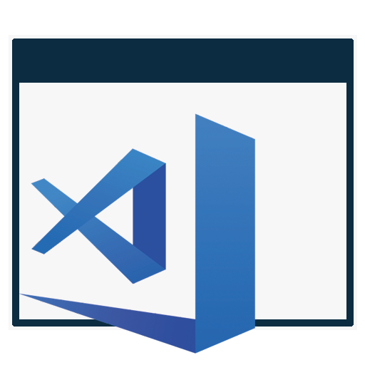 Visual Studio Code icon file by Dickers21