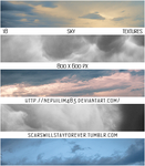 Sky Textures Pack by scarswillstayforever