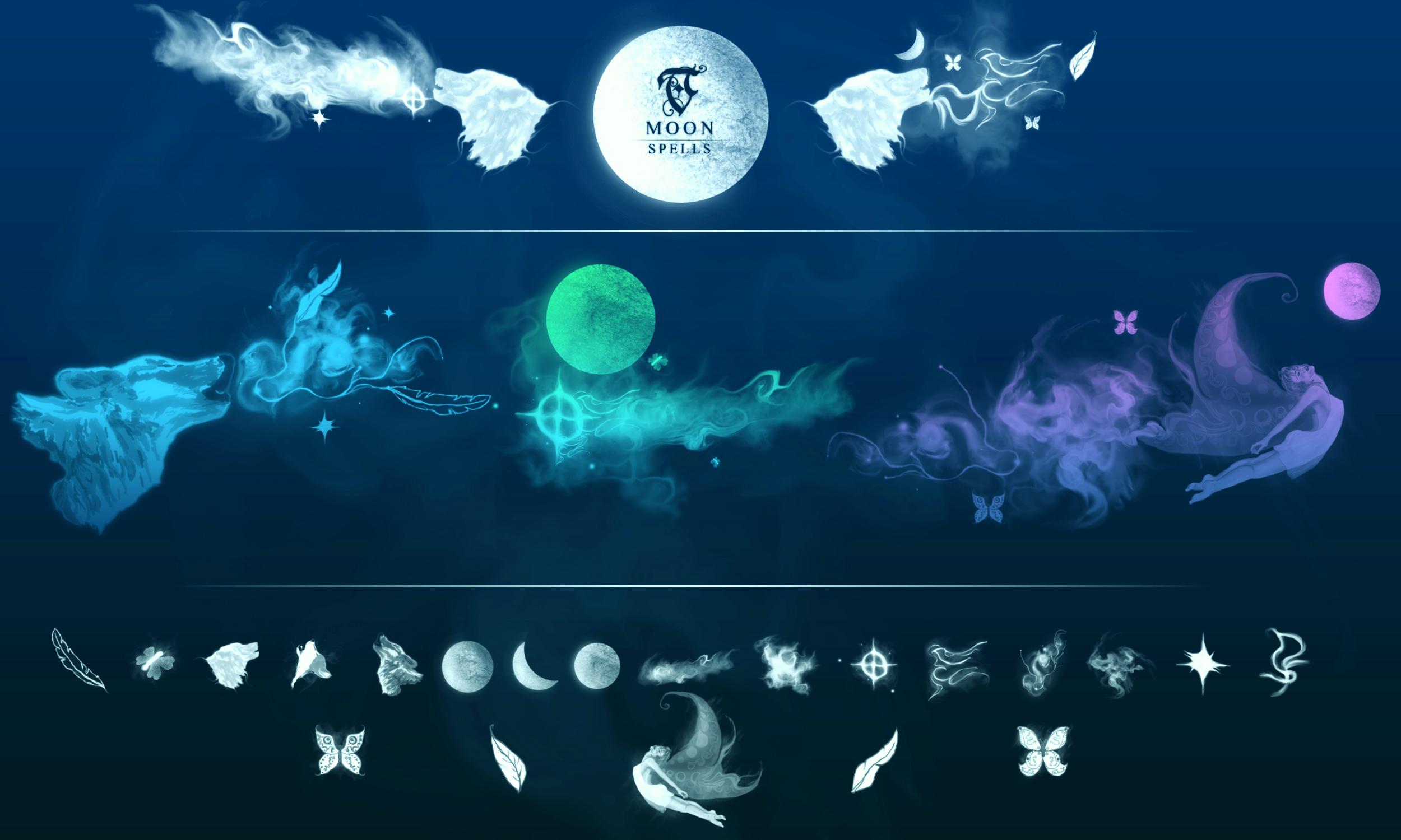 TC MAGIC SPELLS ~ M O O N by TreehouseCharms