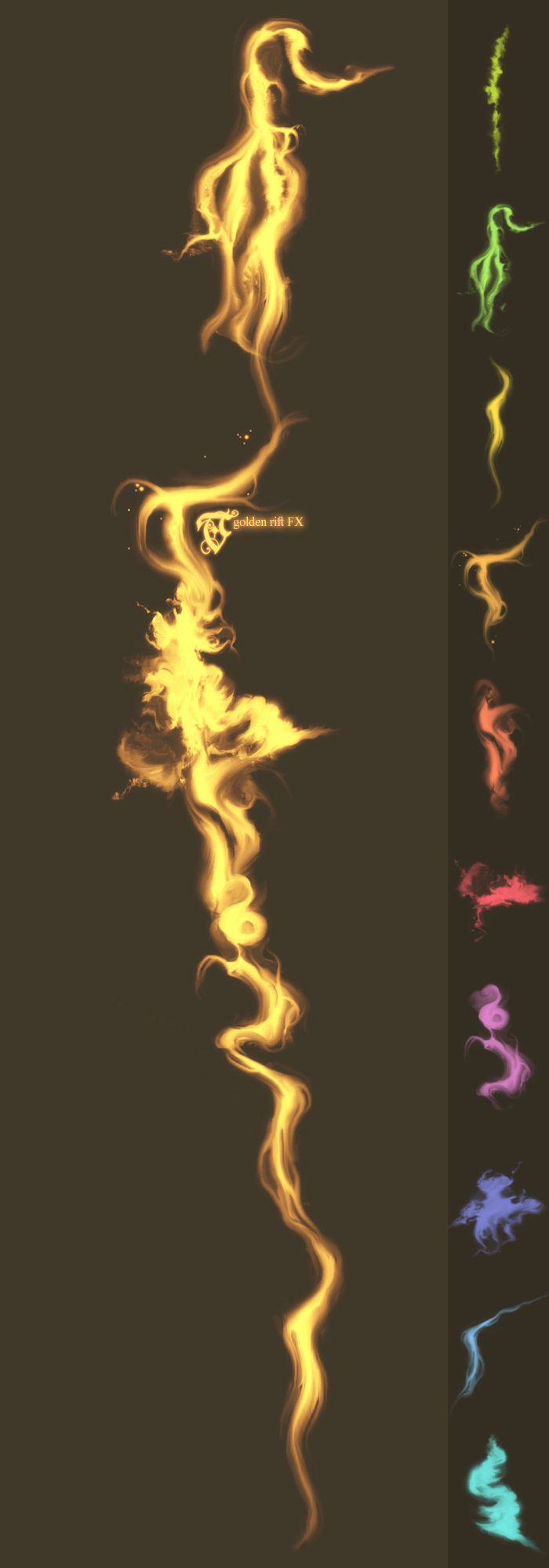 TC ~ E P I C A ~ VII   golden rift FX by TreehouseCharms