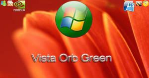 Windows Vista Orb Green