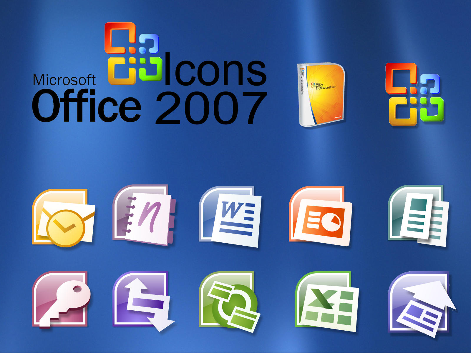Office 2007 Icons by kokej69