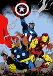 Classic Avengers Flats